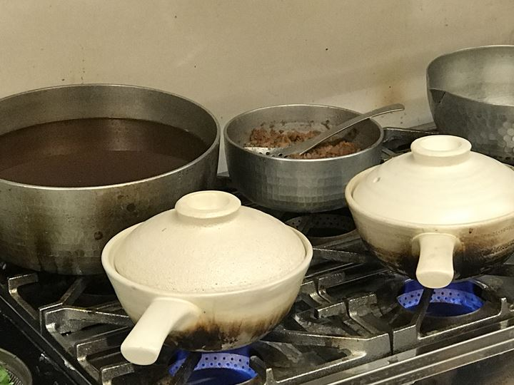 鍋焼きおうどん