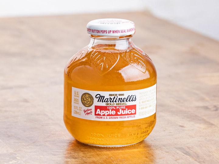 マーティネリ100%ピュアアップルジュース