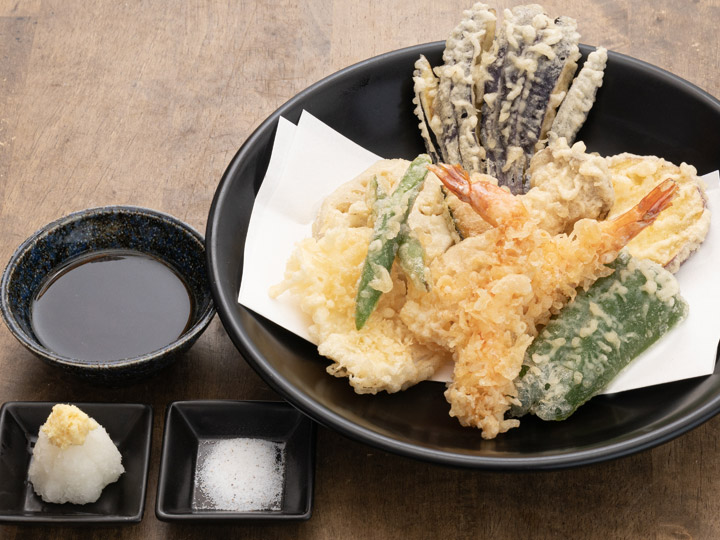 海鮮野菜天盛り合わせ