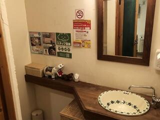かばのおうどんお手洗い(2F)